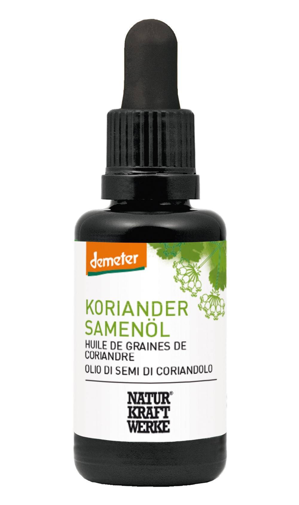 Koriandersamenöl Demeter 30 ml
