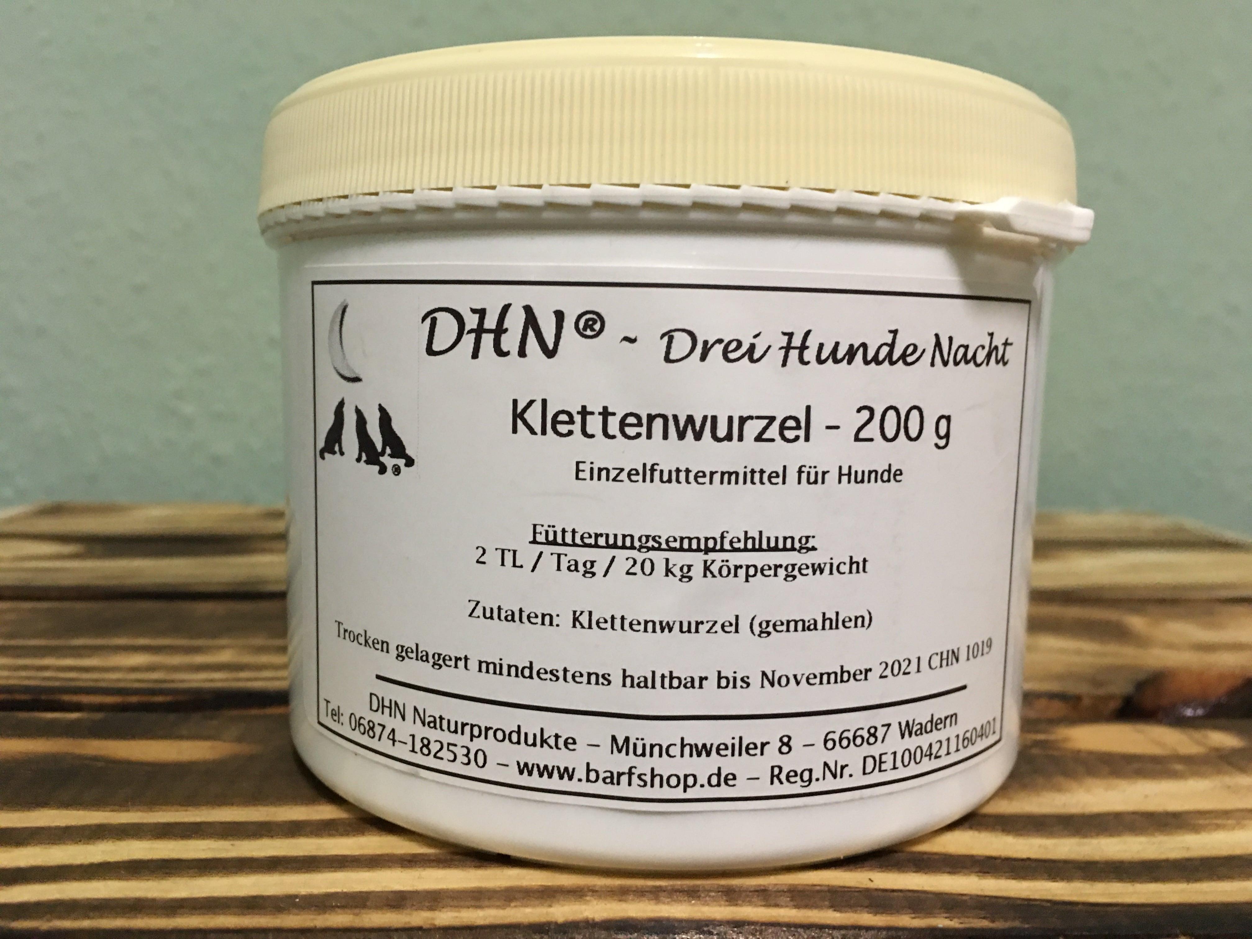 DHN® Klettenwurzel 200 g gemahlen