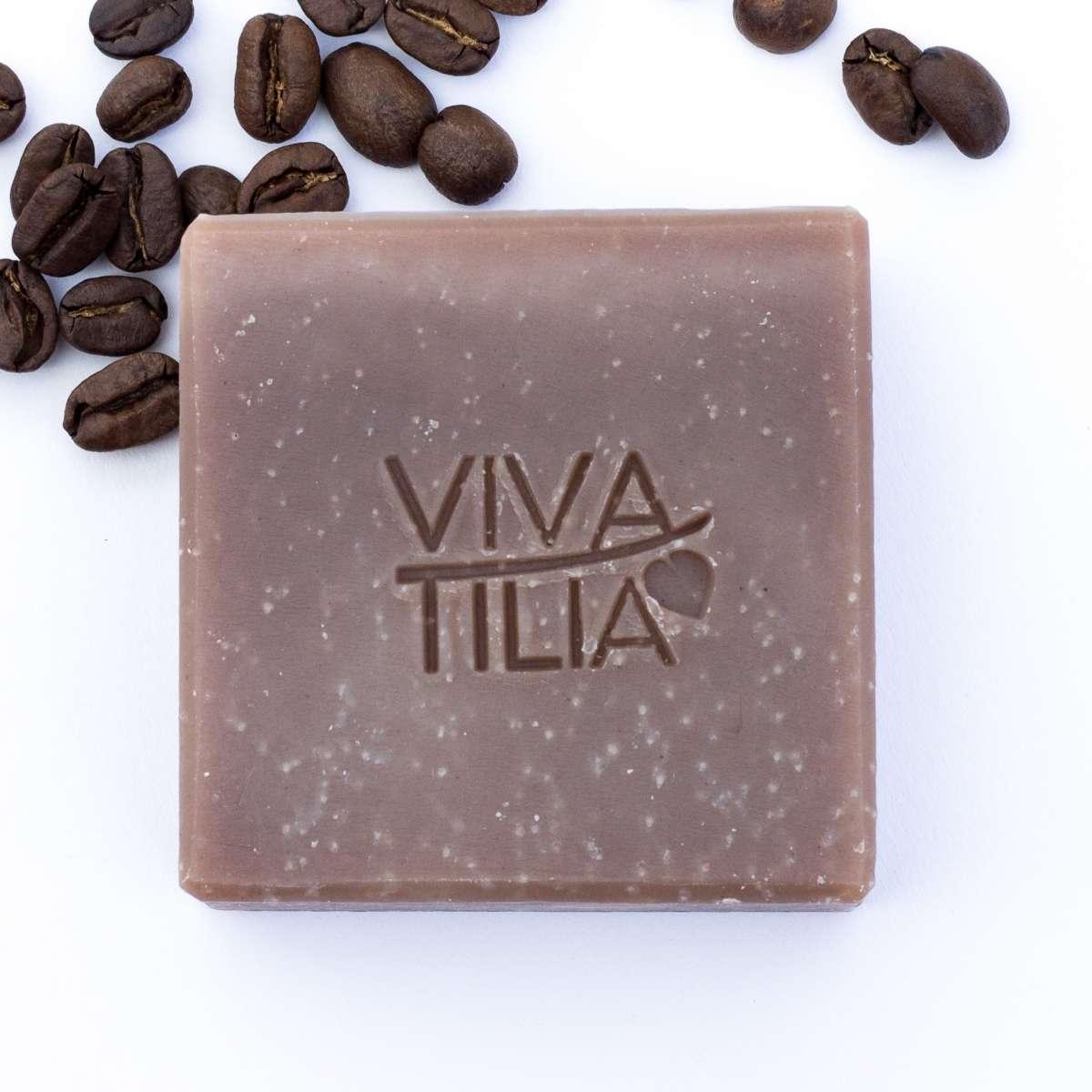 VIVA TILIA Espresso Naturseife 90 g