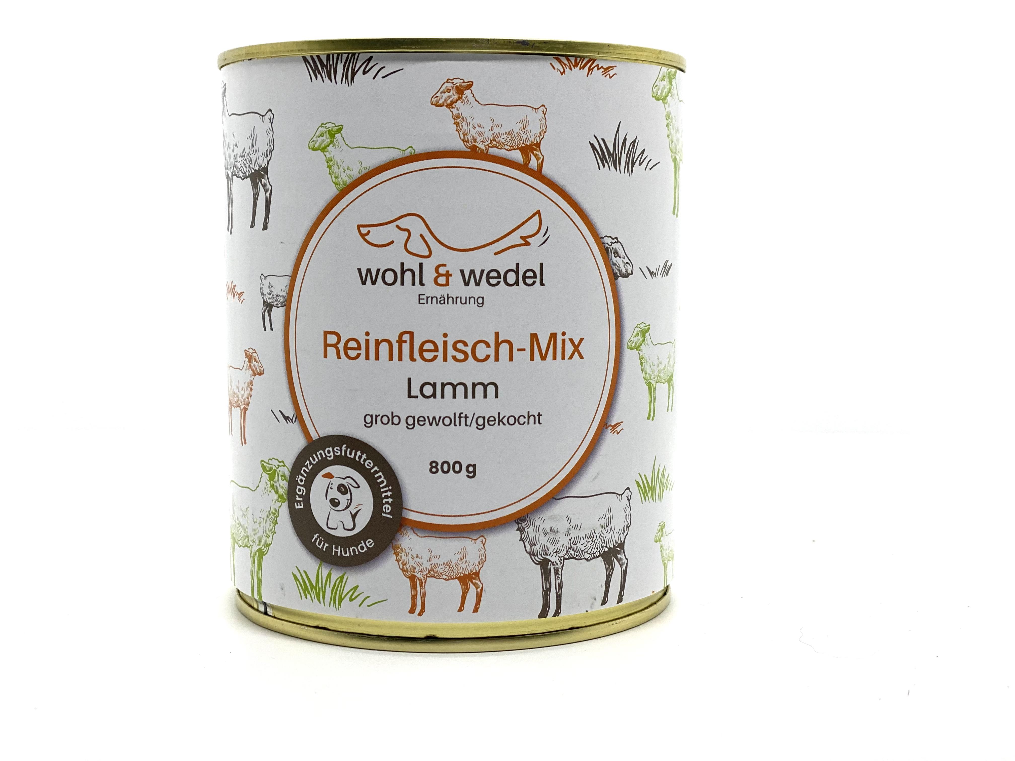 wohl & wedel Reinfleisch-Mix Lamm 800 g