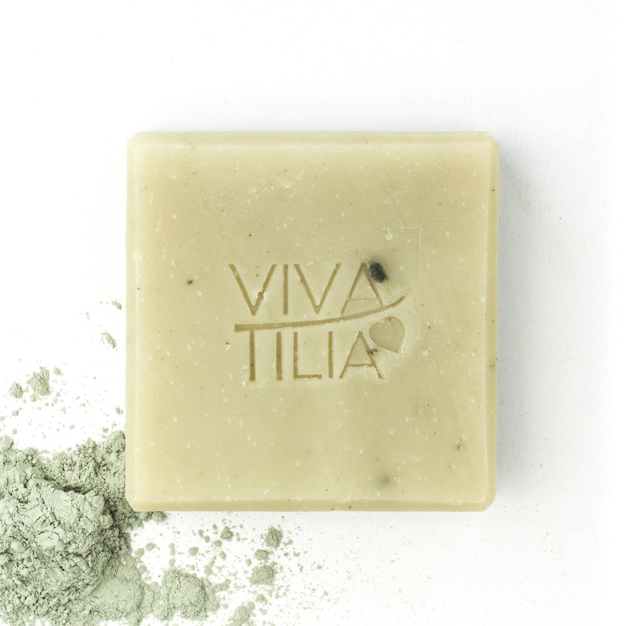 VIVA TILIA Grüne Caroline Naturseife 90 g