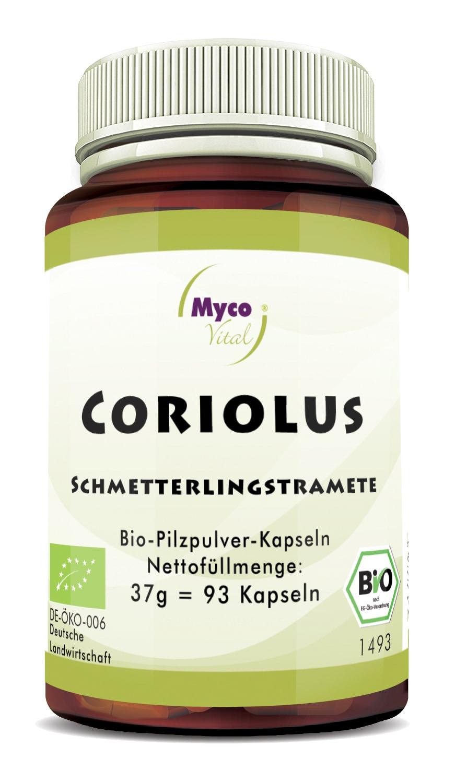 Bio CORIOLUS - 93 Kapseln -DE-ÖKO-007
