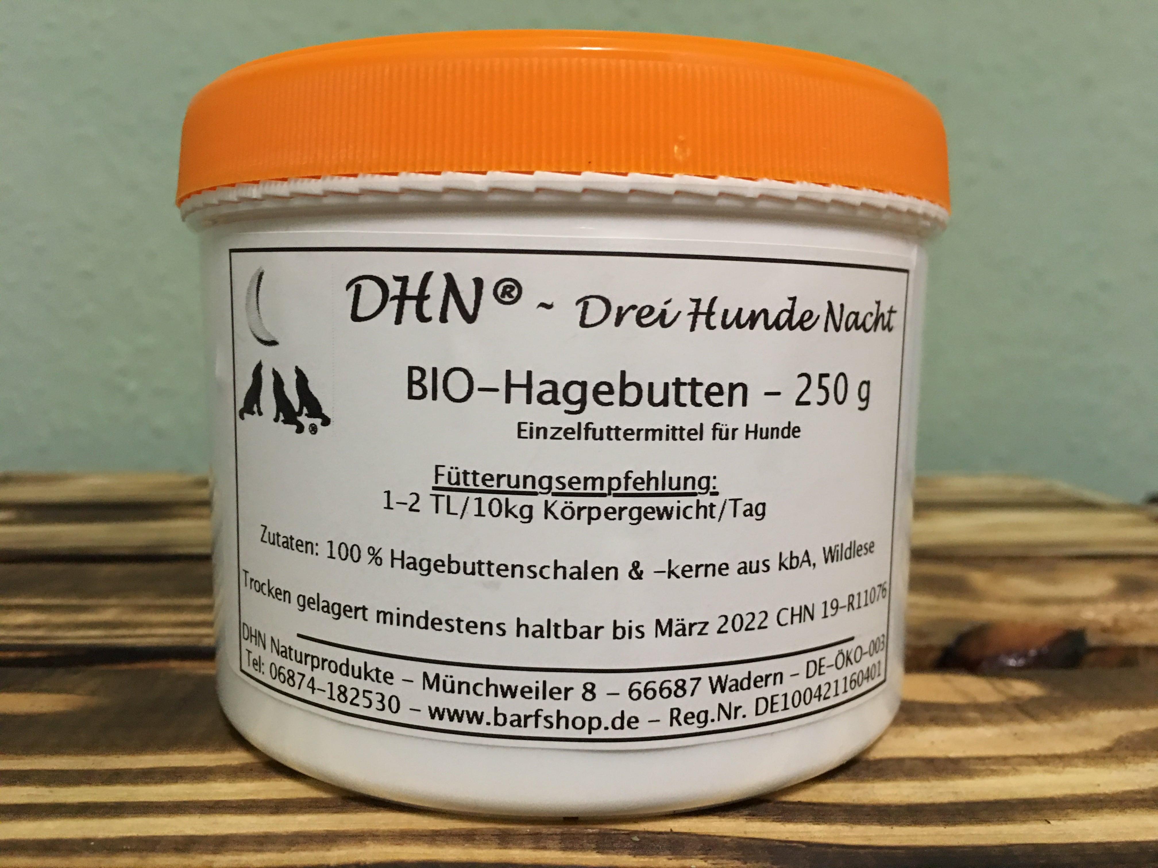 DHN® BIO-Hagebutten 250 g - DE-ÖKO-007