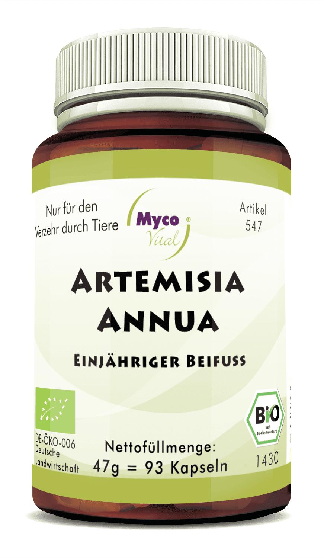 Bio Artemisia Annua (Einjähriger Beifuß) 93 Kapseln - DE-ÖKO-007