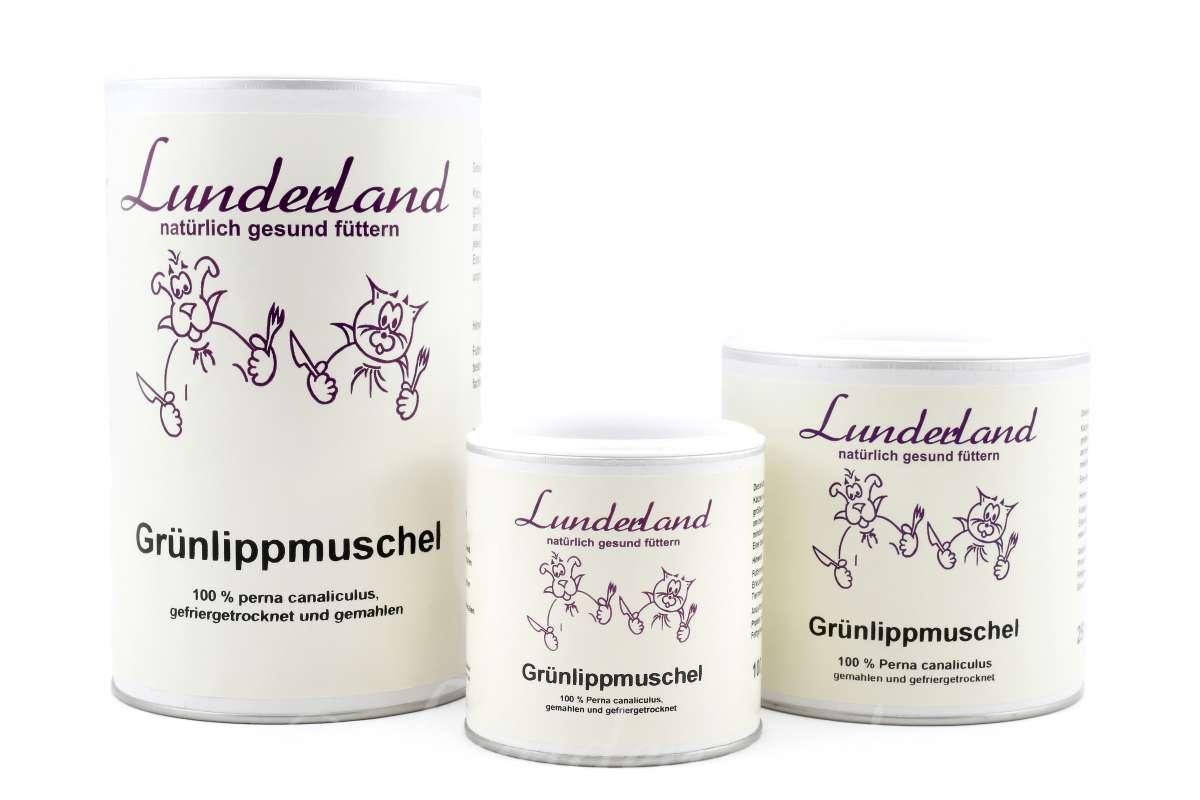 Lunderland Grünlippmuschelpulver 250 g