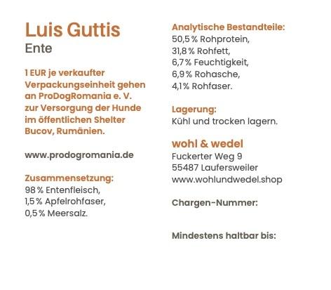 Luis Guttis Ente 250 g