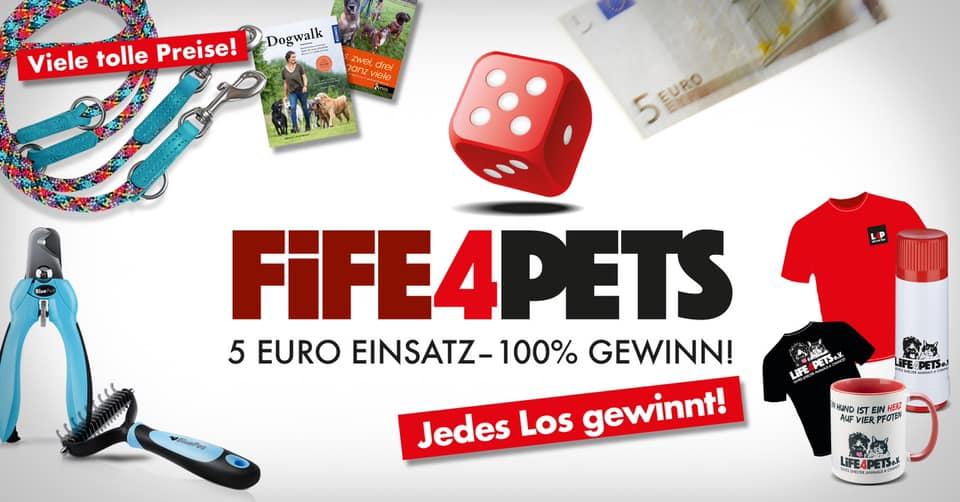 5forPets 5 Euro Einsatz – 100% Gewinn