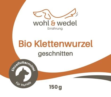 wohl & wedel Bio Klettenwurzel geschnitten 150 g - DE-ÖKO-007