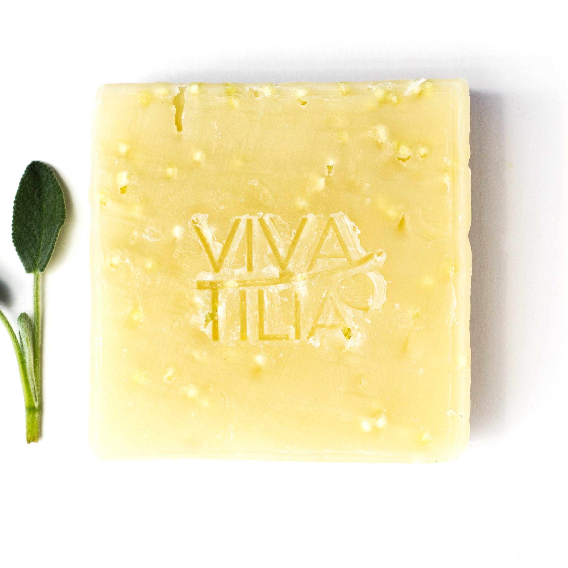 VIVA TILIA Tapioka-Peeling Naturseife 90 g
