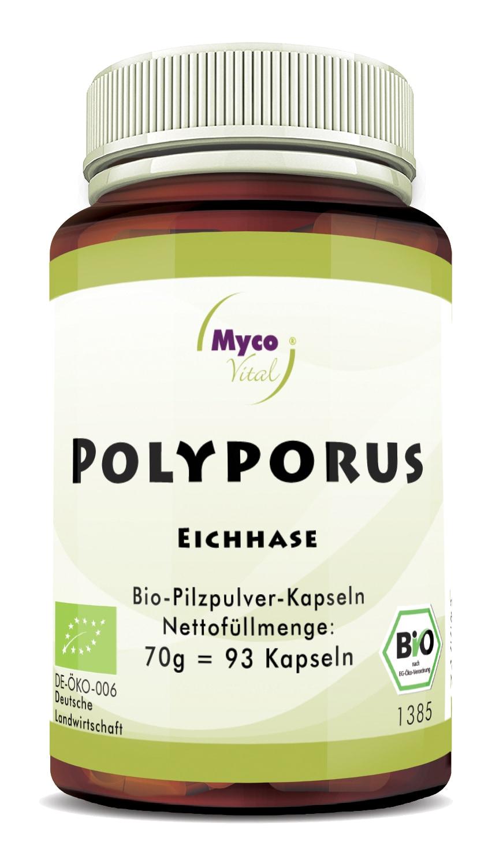 Bio POLYPORUS - 93 Kapseln -DE-ÖKO-007