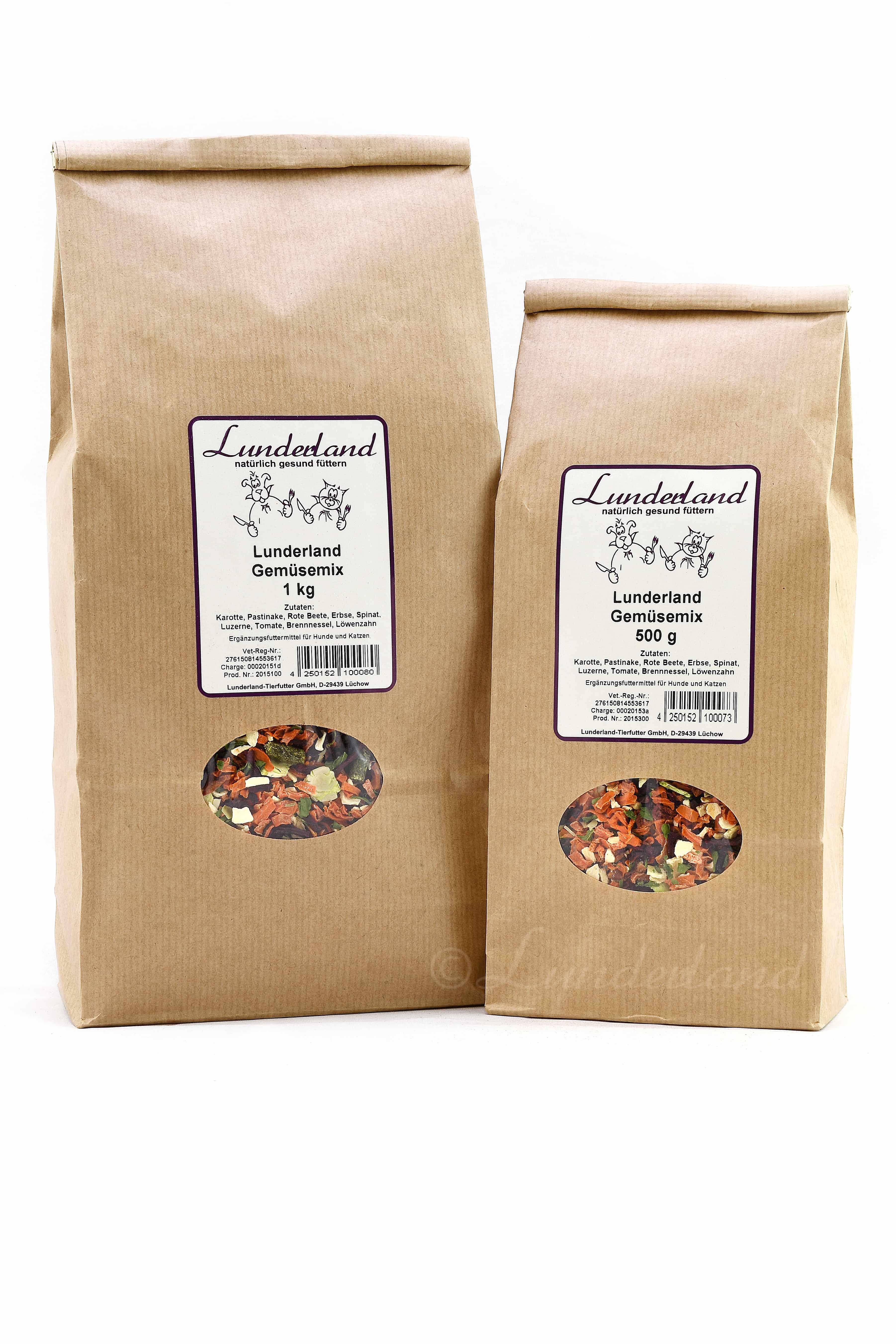 Lunderland Gemüse-Mix 500 g
